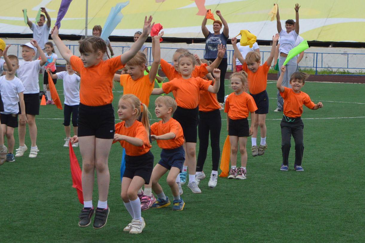 Соревнования в День города на стадионе Динамо